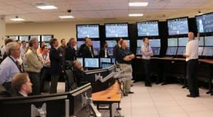 NuScale's Corvallis, Ore. headquarters includes a replica of what the company's nuclear reactor power plant control room would look like. Courtesy NuScale