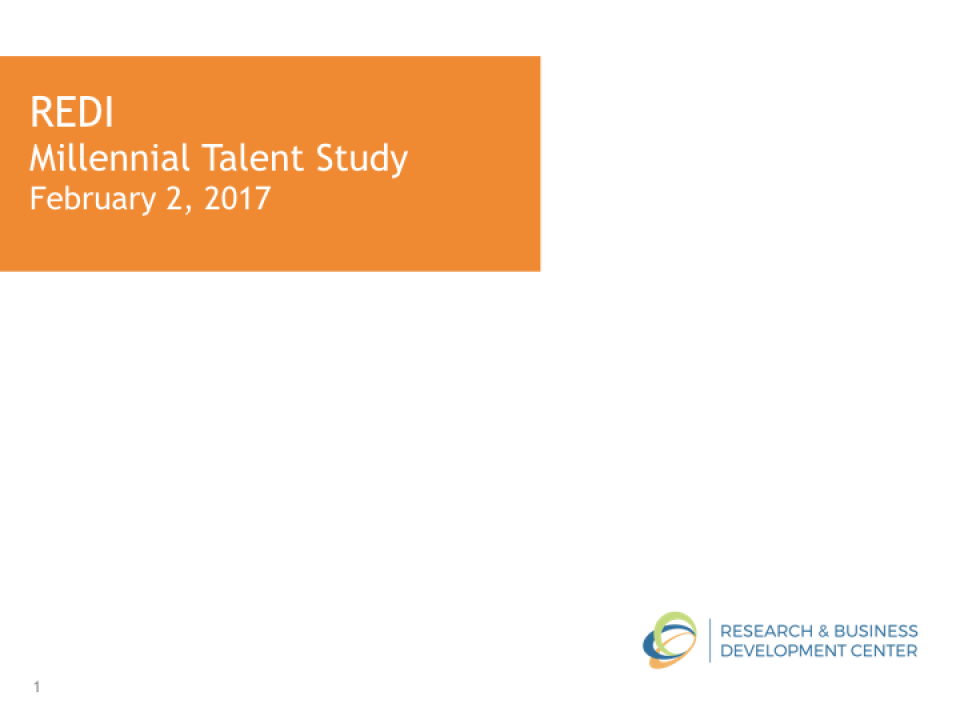 Eastern Idaho Millennial Research 2.001