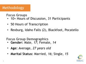 Eastern Idaho Millennial Research 2.003